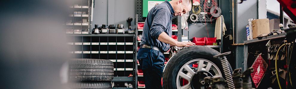 Reifen und Felgen - Werkstatt Tegernsee